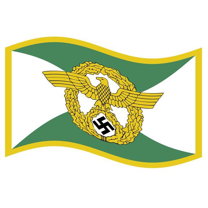 Ordsnungpolizei Flag - My Evil Twin