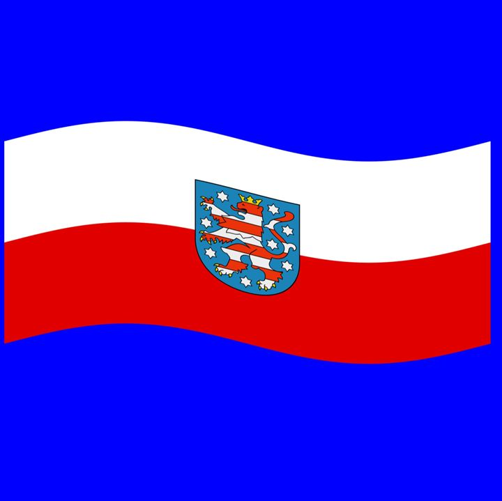 Thuringia Flag - My Evil Twin
