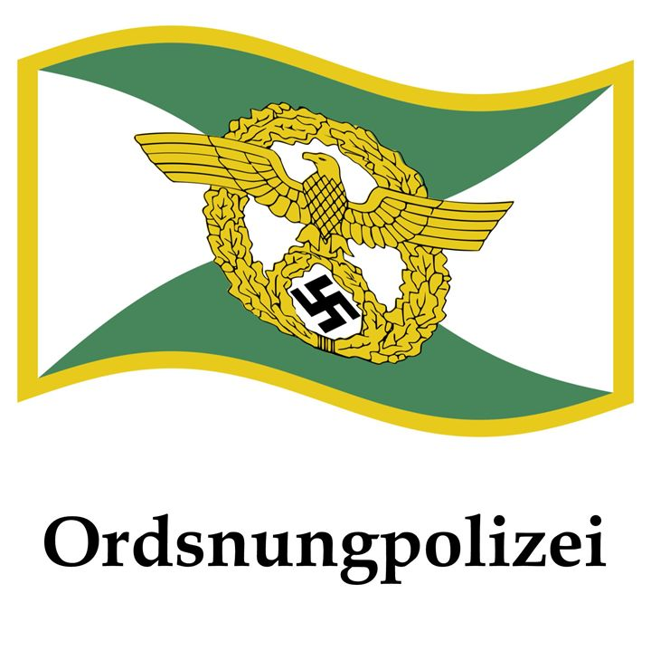 Ordsnungpolizei Flag - My Evil Twin