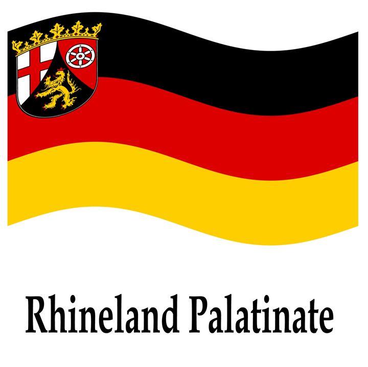 Rhineland Palatinate Flag - My Evil Twin
