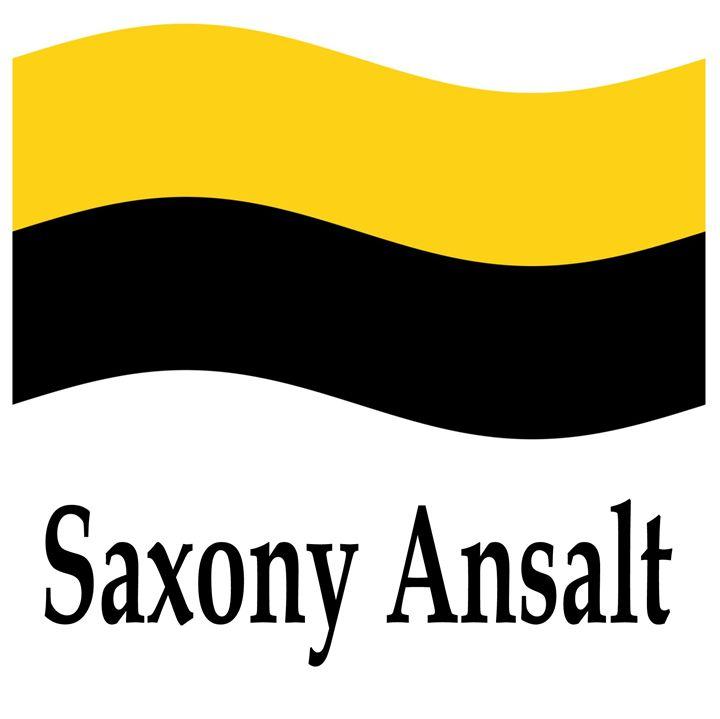 Saxony Ansalt Flag - My Evil Twin