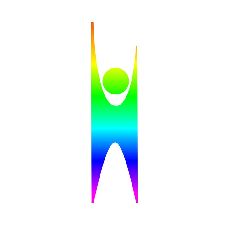 Rainbow Happy Man Symbol - My Evil Twin
