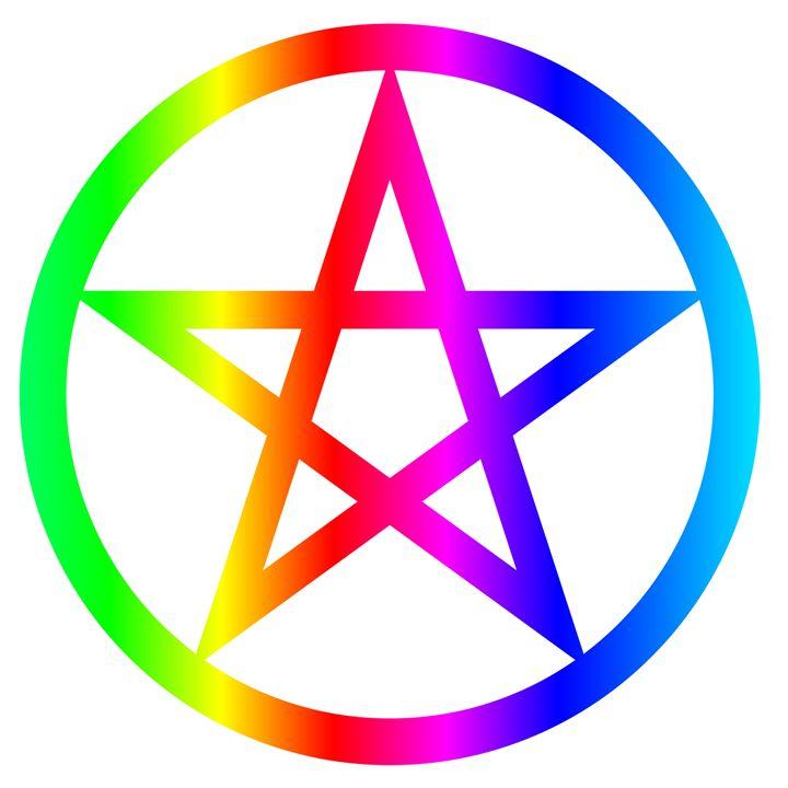 Rainbow Pentacle - My Evil Twin