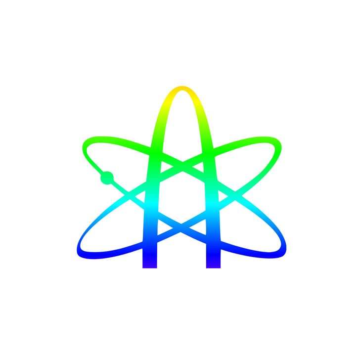 Rainbow Atheism Symbol - My Evil Twin