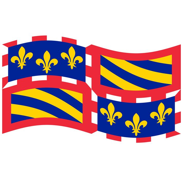 Borgogne Flag - My Evil Twin