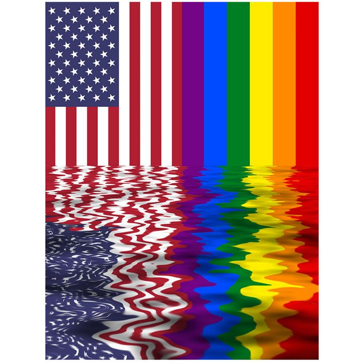Reflected Flags - My Evil Twin