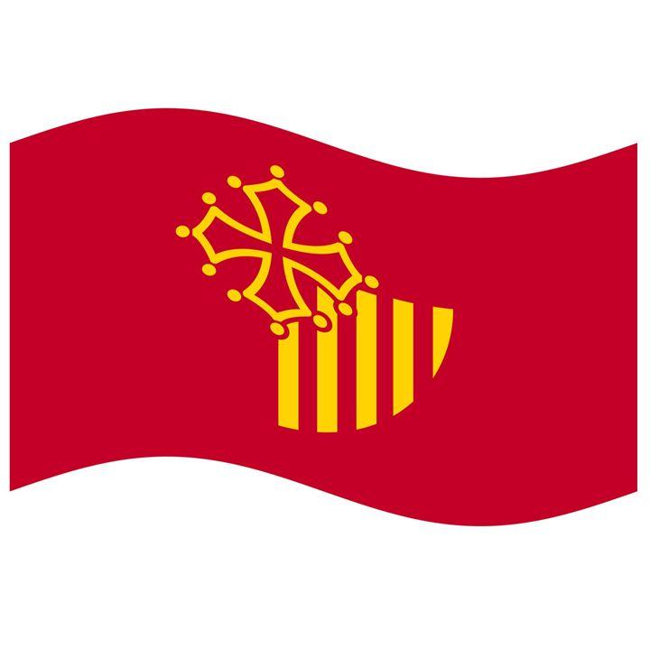 Languadoc Roussillon Flag - My Evil Twin
