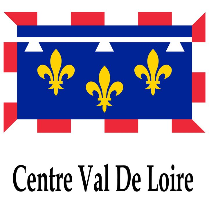 Centre Val De Loire Flag - My Evil Twin