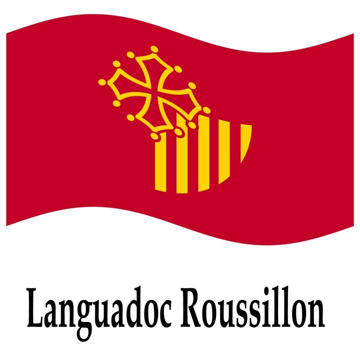 Languadoc Roussillon, France Flag - My Evil Twin