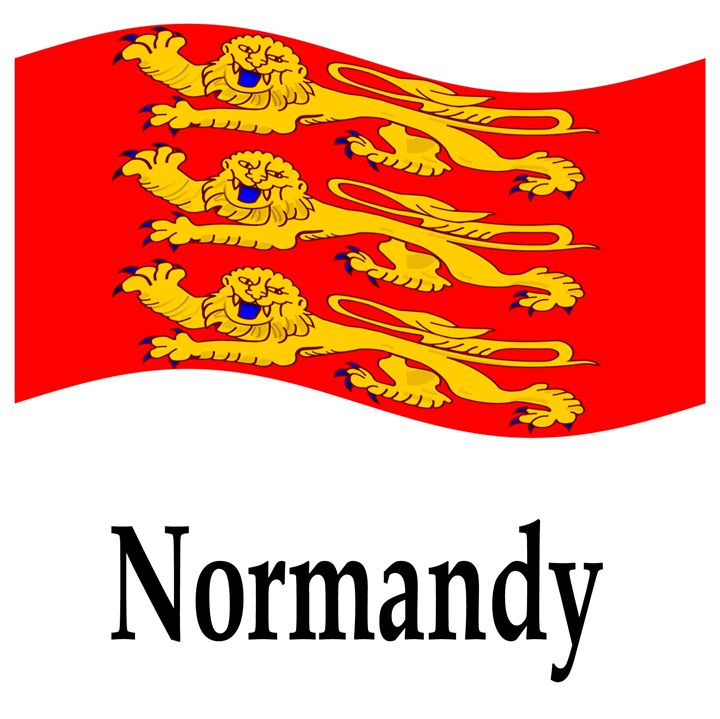 Normandy, France Flag - My Evil Twin
