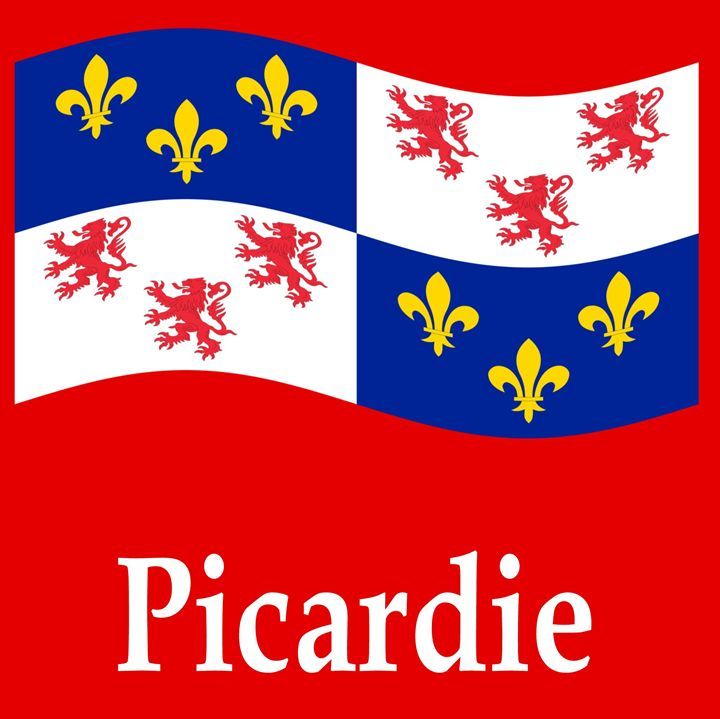 Picardie, Italy Flag - My Evil Twin