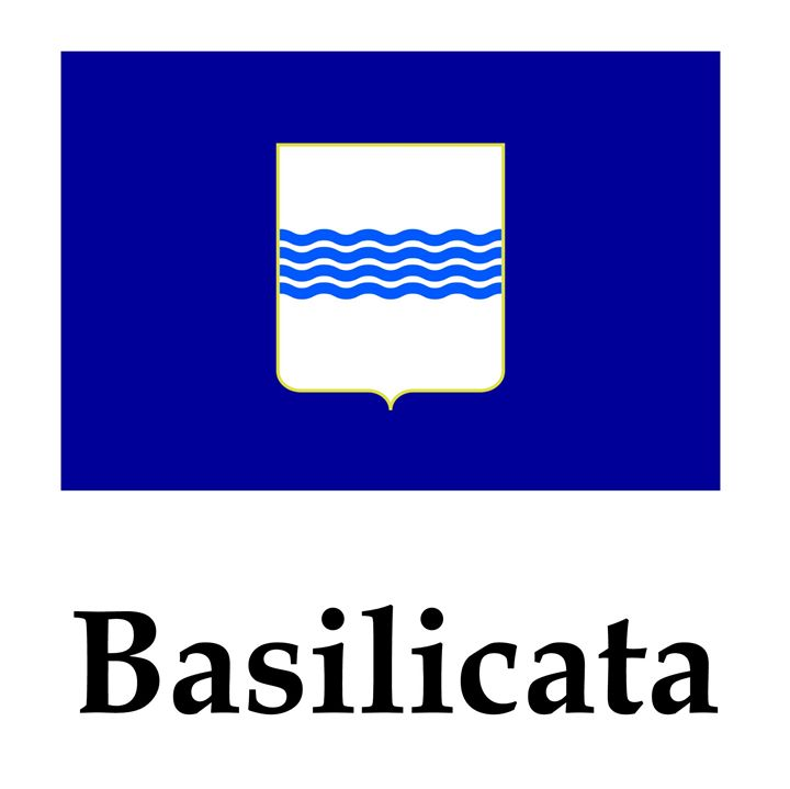 Basilicata, Italy Flag And Name - My Evil Twin