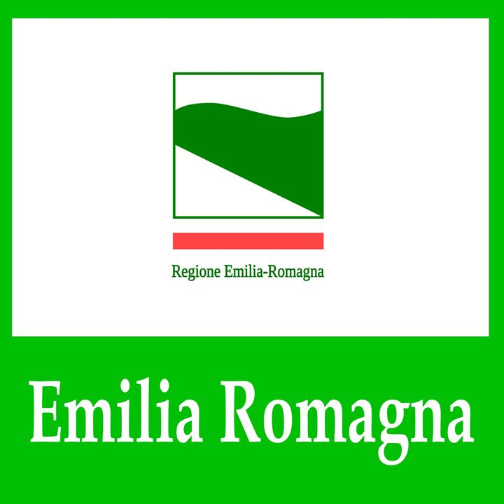 Emilia Romagna, Italy Flag And Name - My Evil Twin