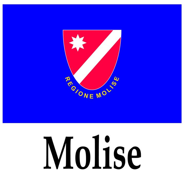 Molise, Italy Flag And Name - My Evil Twin