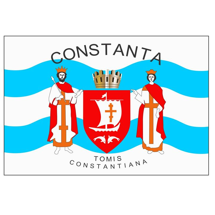 Constanta, Romania Flag - My Evil Twin