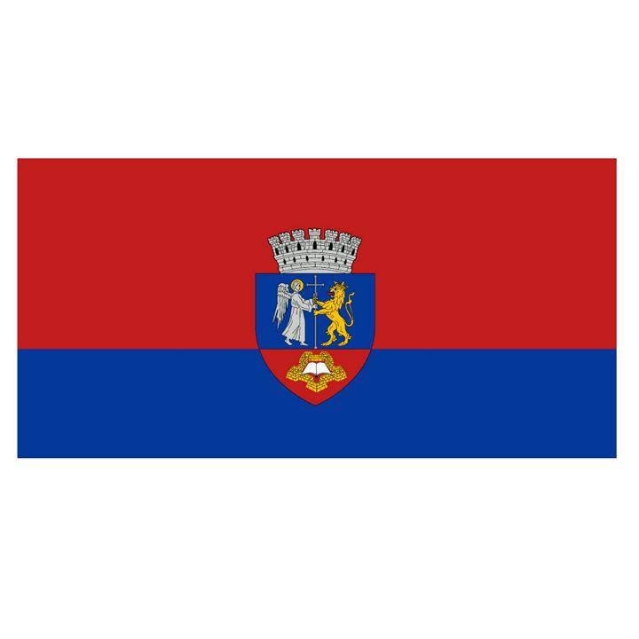 Oradia, Romania Flag And Name - My Evil Twin