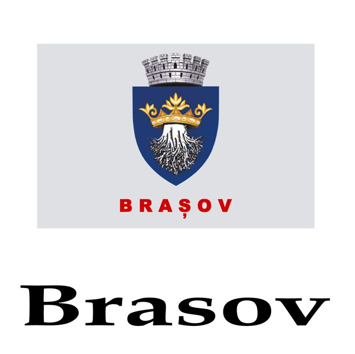 Brasov, Romania Flag And Name - My Evil Twin