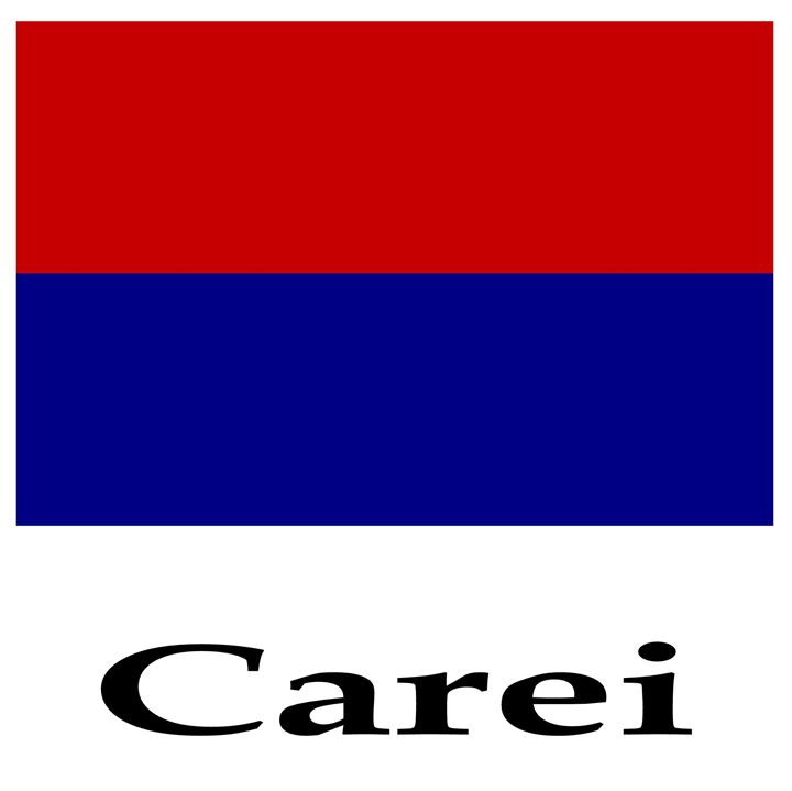Carei, Romania Flag And Name - My Evil Twin