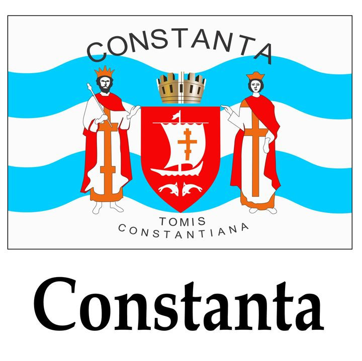 Constanta, Romania Flag And Name - My Evil Twin