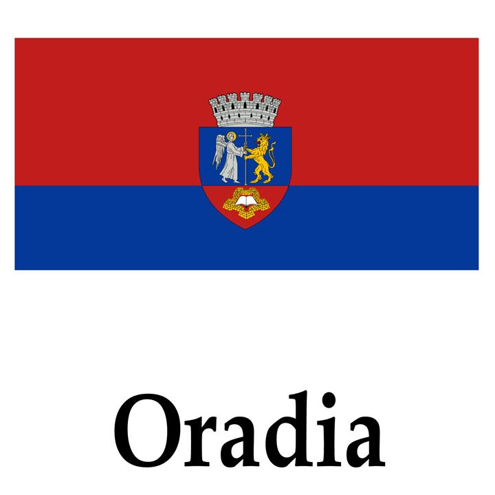 Oradia, Romania Flag - My Evil Twin
