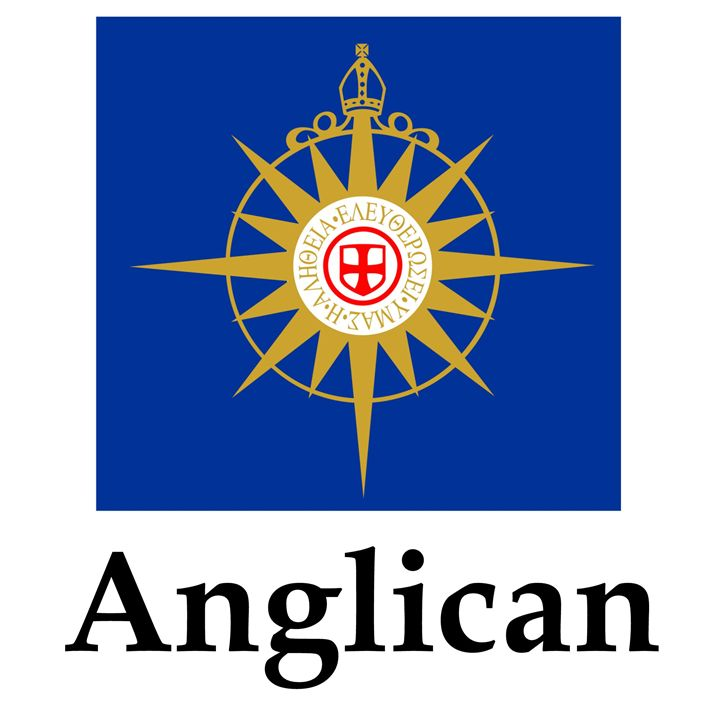 Anglican Flag And Name - My Evil Twin