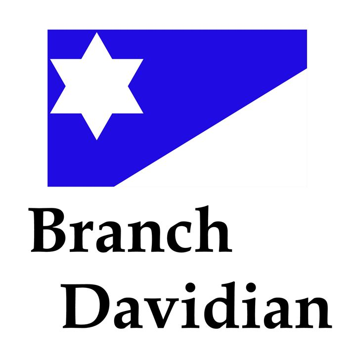Branch Davidian Flag And Name - My Evil Twin