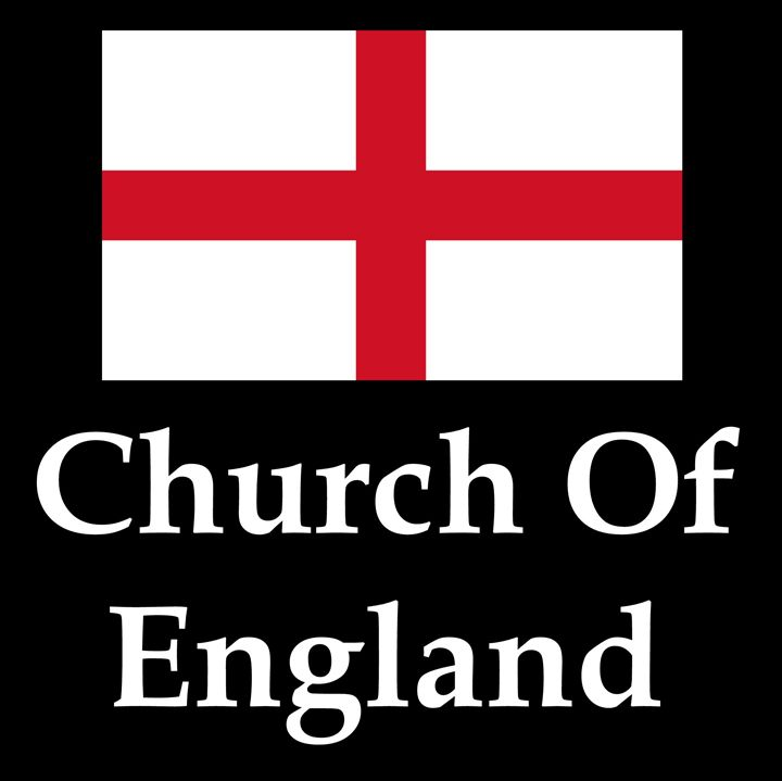 Church Of England Flag And Name - My Evil Twin