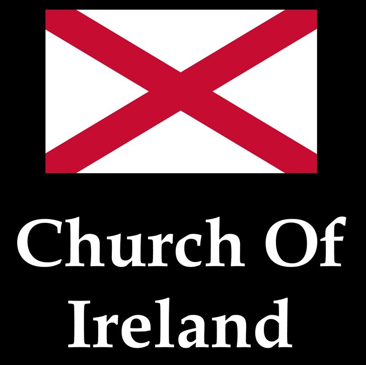 Church Of Ireland Flag And Name - My Evil Twin