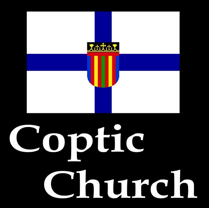 Coptic Church Flag And Name - My Evil Twin
