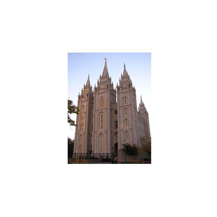 Salt Lake Temple - My Evil Twin