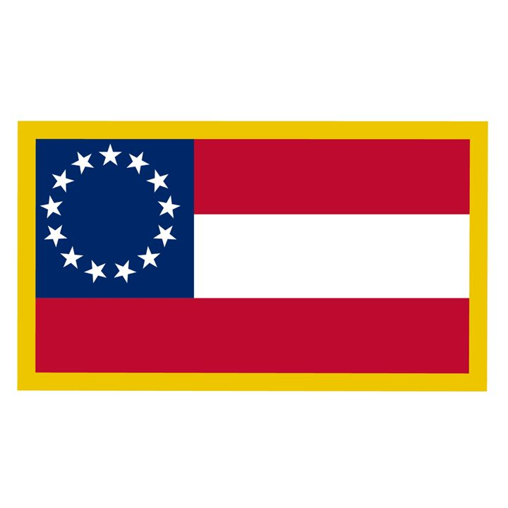 1st Confederate Flag - My Evil Twin