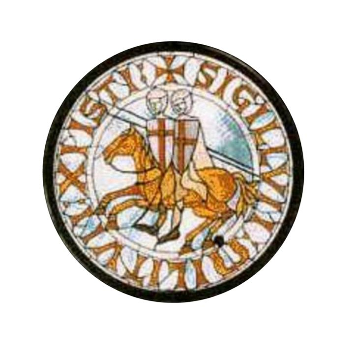 Knights Templar Seal - My Evil Twin