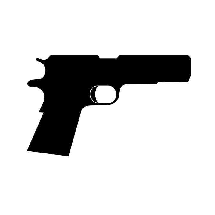 Pistol Silhouette - My Evil Twin