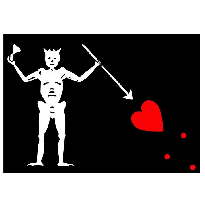 Pirate Flag Of Blackbeard - My Evil Twin