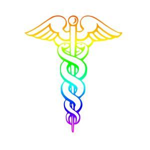 Rainbow Caduceus - My Evil Twin