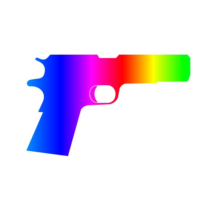 Rainbow Pistol - My Evil Twin