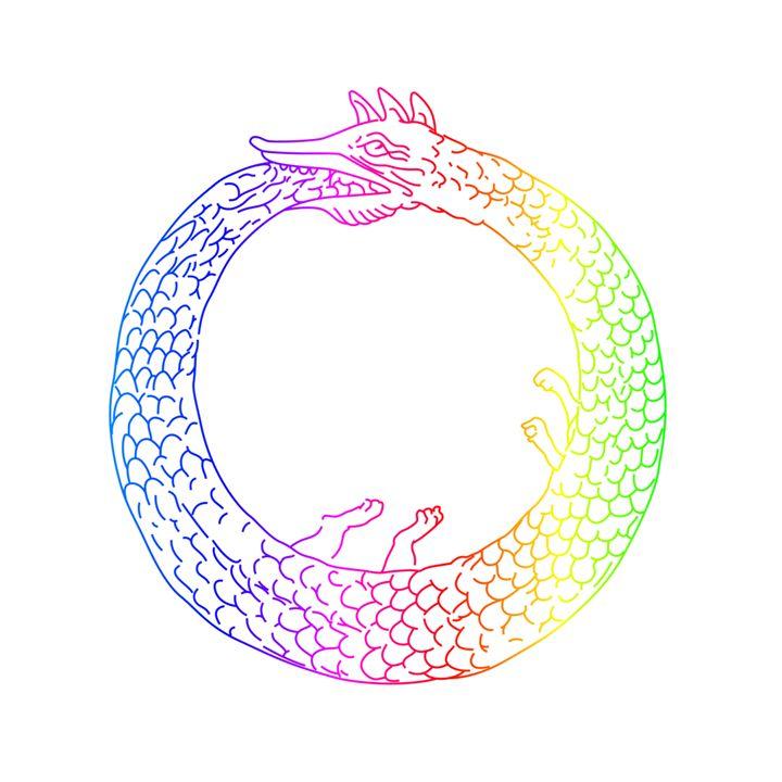 Rainbow Ouroboros - My Evil Twin