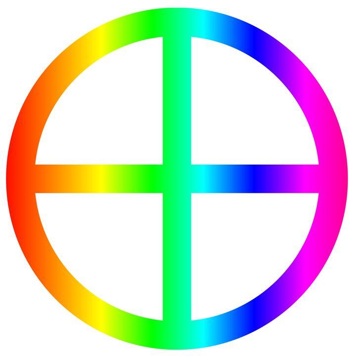 Rainbow Earth Symbol - My Evil Twin