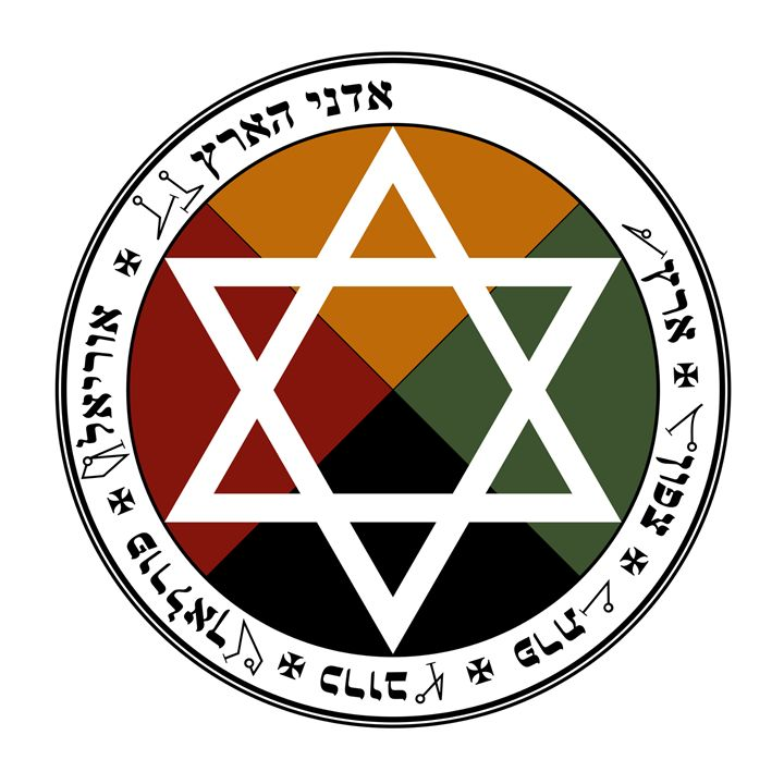 Golden Dawn-Earth Pentacle - My Evil Twin