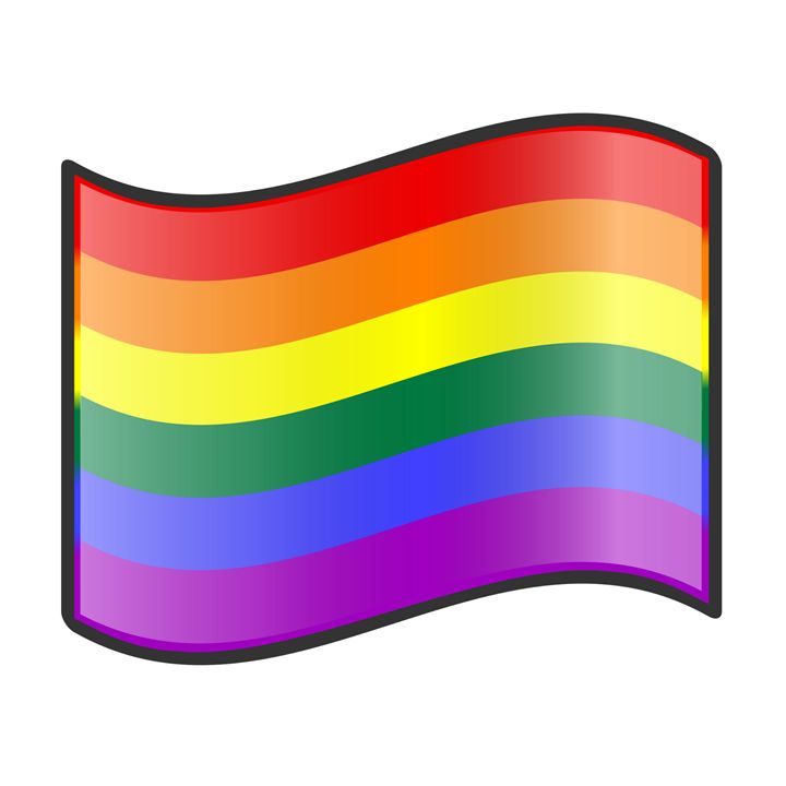 LGBT Flag - My Evil Twin