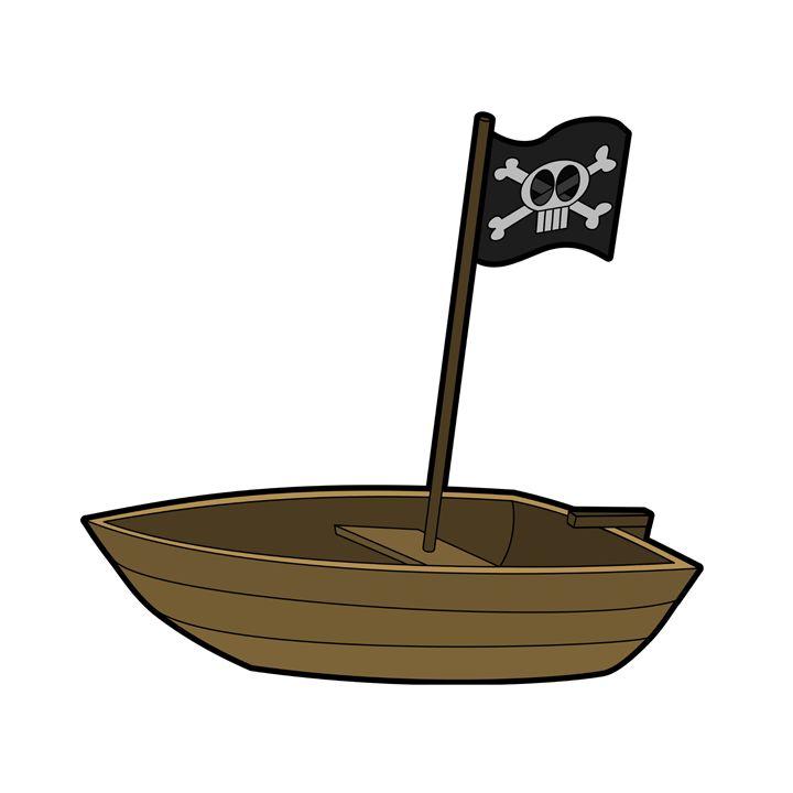 Pirate Boat - My Evil Twin