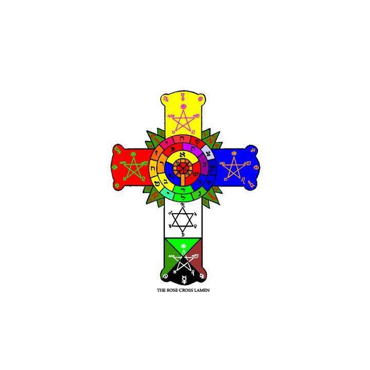 Rosy Cross Lamen - My Evil Twin