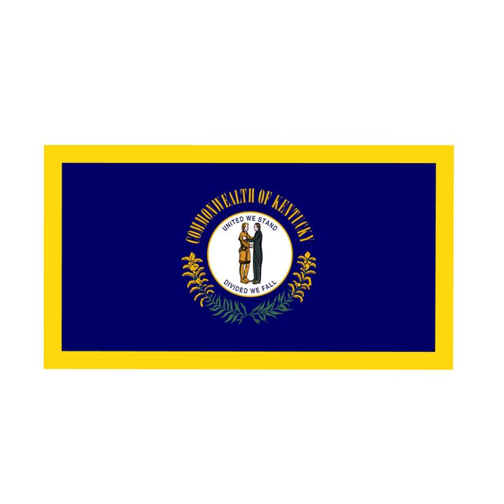Kentucky Flag - My Evil Twin