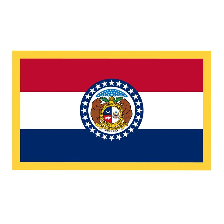 Missouri Flag - My Evil Twin