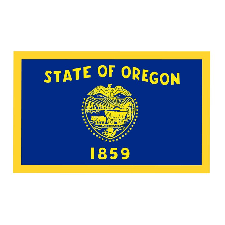 Oregon Flag - My Evil Twin