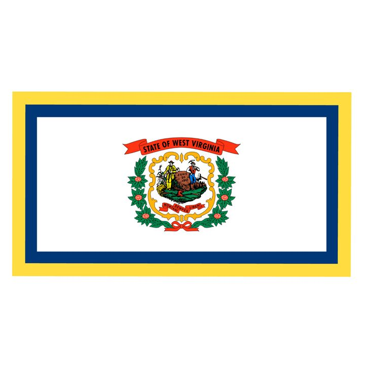 West Virginia Flag - My Evil Twin