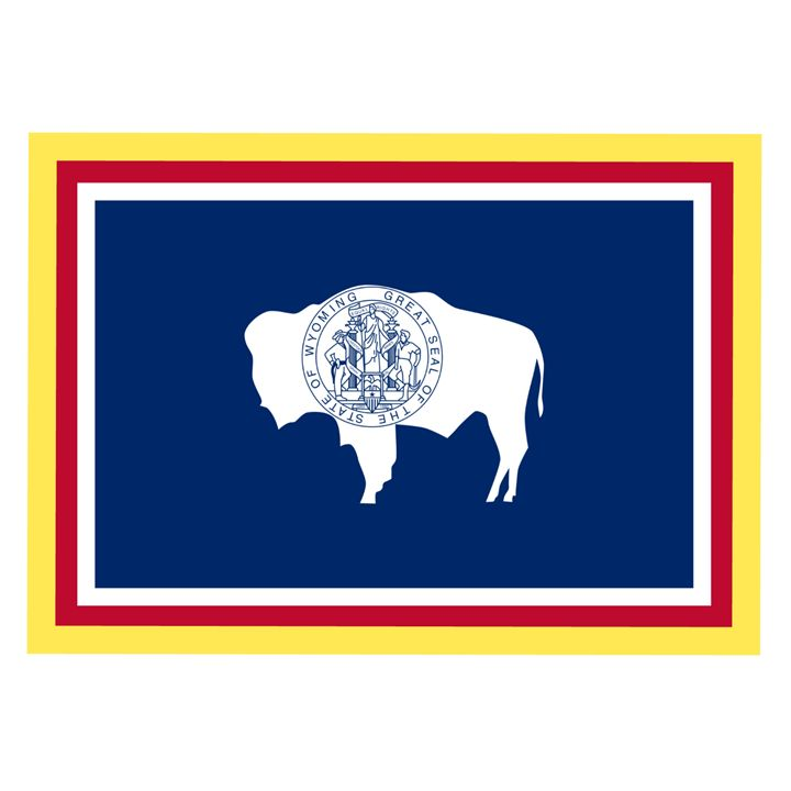 Wyoming Flag - My Evil Twin