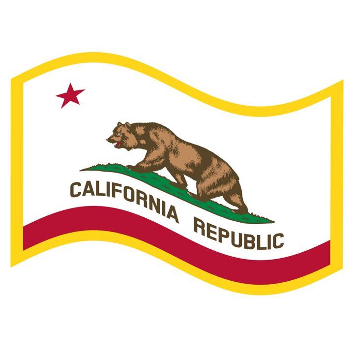 California Flag - My Evil Twin