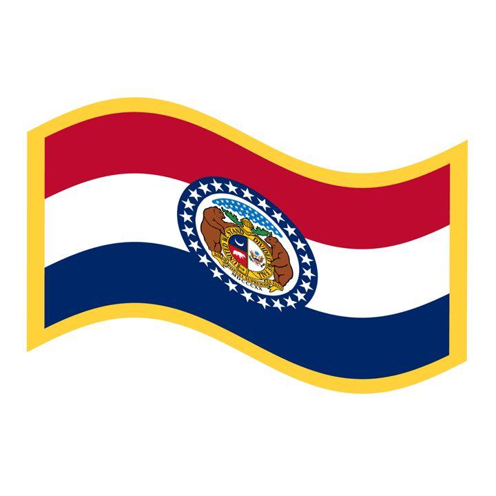 Missouri Flag - My Evil Twin