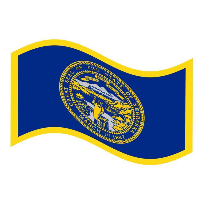 Nebraska Flag - My Evil Twin